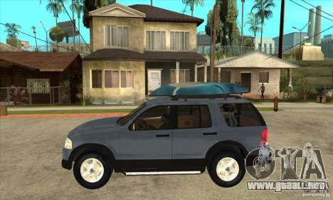 Ford Explorer 2004 para GTA San Andreas left