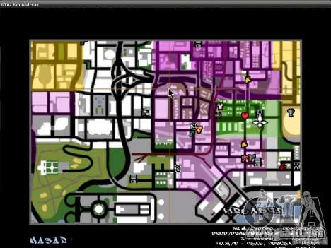 La fuente del NFS MW V2 para GTA San Andreas séptima pantalla