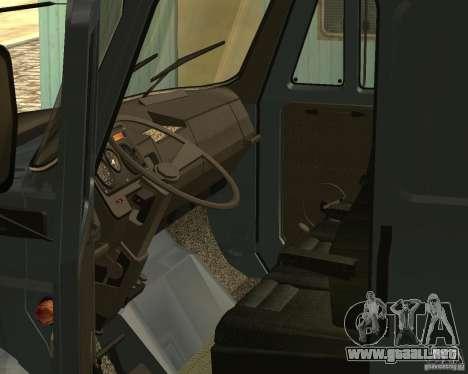 ZIL 5417 para visión interna GTA San Andreas