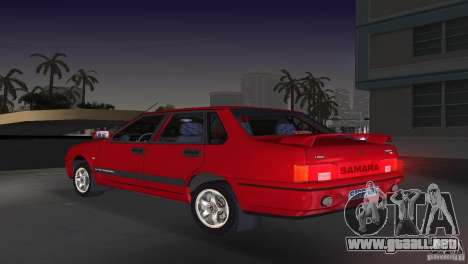 VAZ 21099 DeLuxe para GTA Vice City left