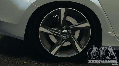 Volvo S60 R-Designs v2.0 para GTA 4 vista superior