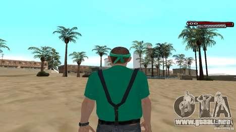 Skin Pack The Rifa Gang HD para GTA San Andreas sucesivamente de pantalla