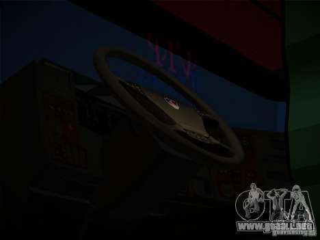 Scania R580 para la visión correcta GTA San Andreas