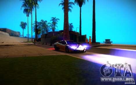 ENBSeries by Inno3D para GTA San Andreas quinta pantalla