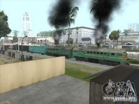 Carga Estados bálticos locomotora ferroviaria fo para visión interna GTA San Andreas