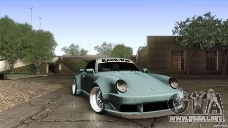 Porsche 911 Turbo RWB DS para visión interna GTA San Andreas