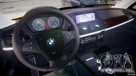 BMW X5 E70 v1.0 para GTA 4 vista hacia atrás