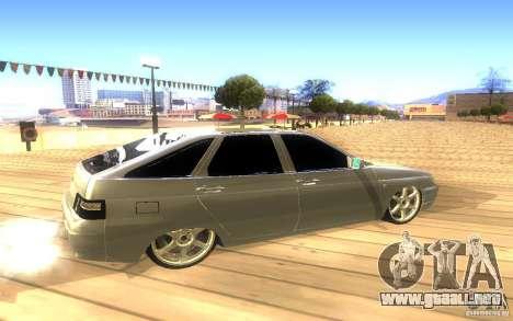 VAZ-2112 LT para la vista superior GTA San Andreas