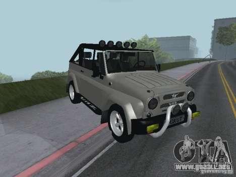 UAZ-3159 para GTA San Andreas left