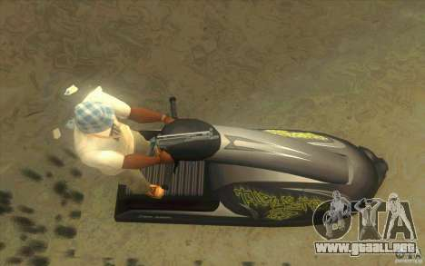 Thruster 87 para la visión correcta GTA San Andreas