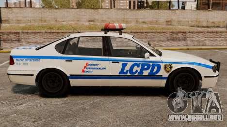 Nueva patrulla de la policía para GTA 4 left