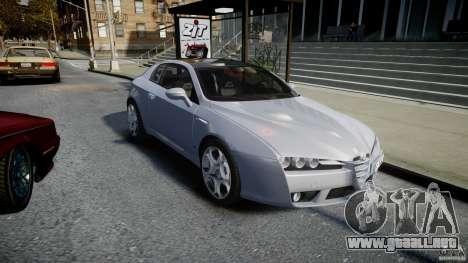 Alfa Romeo Brera Italia Independent 2009 para GTA 4 vista hacia atrás