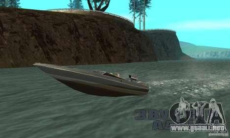 Tschilpjes Jetmax para GTA San Andreas vista hacia atrás