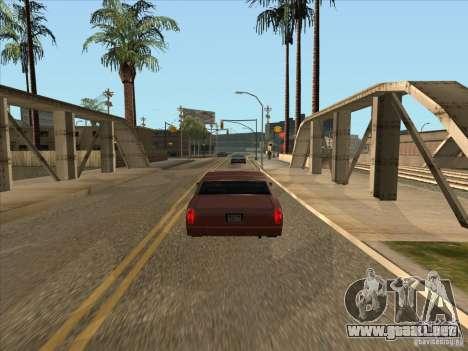 Se graduó de coche frenado para GTA San Andreas segunda pantalla