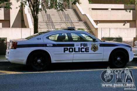 Dodge Charger FBI Police para GTA 4