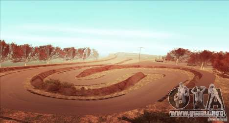 The Ebisu South Circuit para GTA San Andreas quinta pantalla