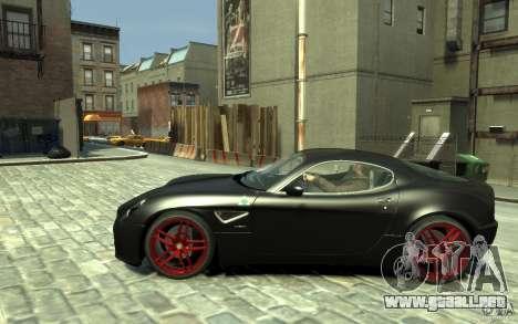 Alfa Romeo 8C Competizione v1 para GTA 4 left