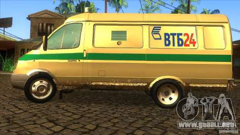 Servicios de transporte gacela 2705 para GTA San Andreas left