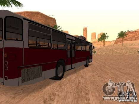 Nuevos scripts para autobuses. 2.0 para GTA San Andreas sexta pantalla