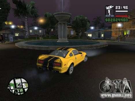 Nev Groove Street 1.0 para GTA San Andreas segunda pantalla