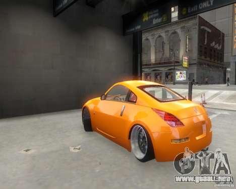 Nissan 350Z para GTA 4 visión correcta