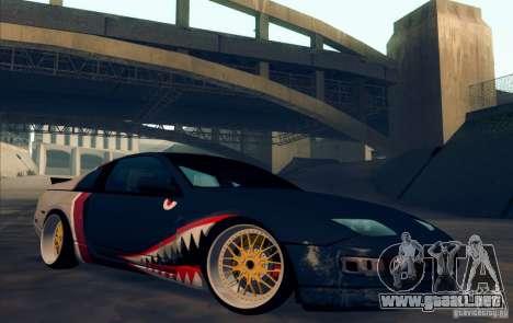 Nissan 300ZX Bad Shark para visión interna GTA San Andreas