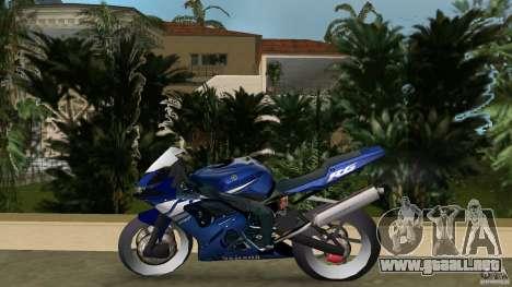 Yamaha YZF R6 2005 para GTA Vice City left