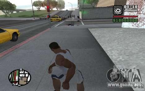 Dagas para GTA San Andreas quinta pantalla