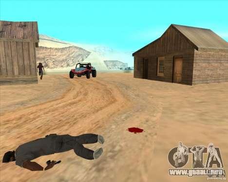 Vaquero duelo v2.0 para GTA San Andreas sucesivamente de pantalla