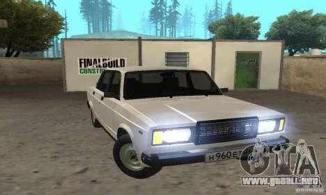 Vaz 2107 Stock v.2 para GTA San Andreas