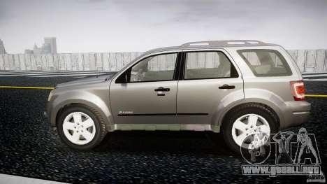 Ford Escape 2011 Hybrid Civilian Version v1.0 para GTA 4 left