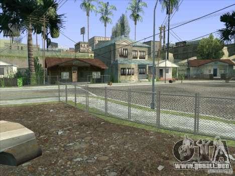 Grove Street Retextured para GTA San Andreas décimo de pantalla
