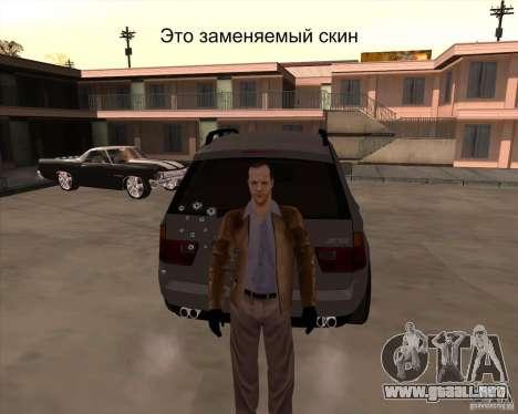 La piel es un miembro de la mafia para GTA San Andreas sucesivamente de pantalla