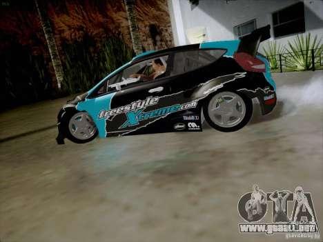 Ford Fiesta RS para GTA San Andreas left