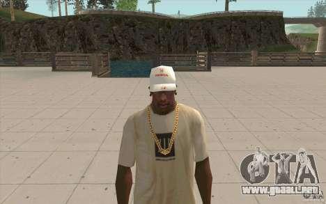 Gorra honda para GTA San Andreas segunda pantalla