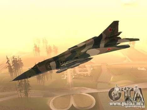 Mikoyan-Gurevich Mig-23 para GTA San Andreas