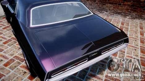 Dodge Challenger 1971 RT para GTA motor 4