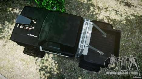 MegaBOB 0.9 para GTA 4 vista hacia atrás