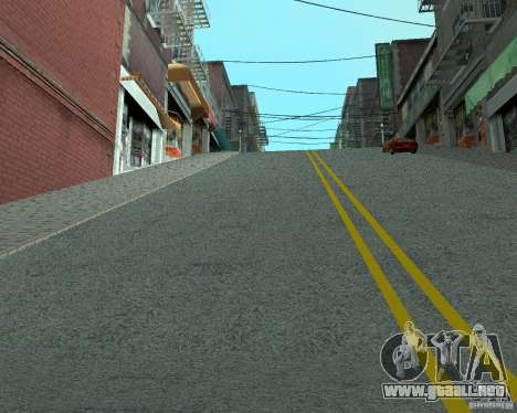 Nuevos caminos en San Fierro para GTA San Andreas segunda pantalla