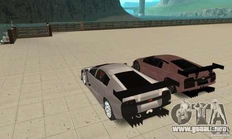 Lamborghini Murcielago R GT para el motor de GTA San Andreas