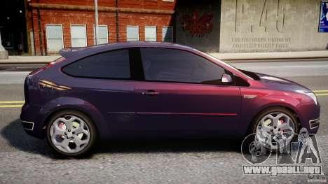 Ford Focus ST MkII 2005 para GTA 4 left