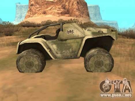 UAZ-8 Ocelot para GTA San Andreas left