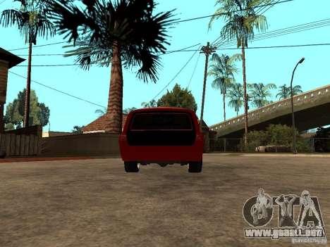 GAZ 24-12 para GTA San Andreas vista posterior izquierda
