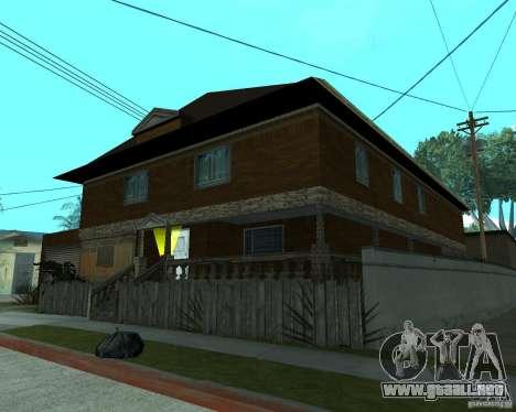 CJâ casa nueva para GTA San Andreas tercera pantalla
