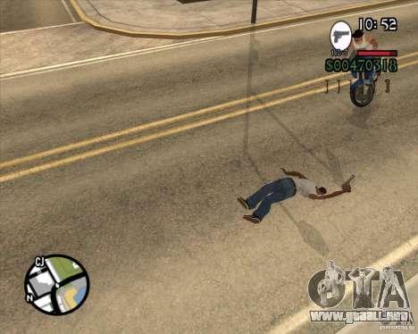 Endorphin Mod v.3 para GTA San Andreas tercera pantalla