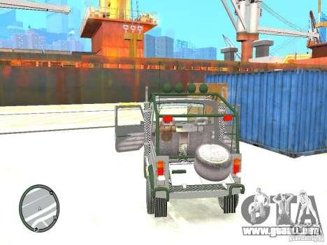 LuAZ 969 m Tuning para GTA 4 vista interior