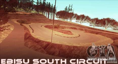 The Ebisu South Circuit para GTA San Andreas