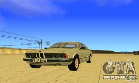 BMW 735i E23 1979 para GTA San Andreas