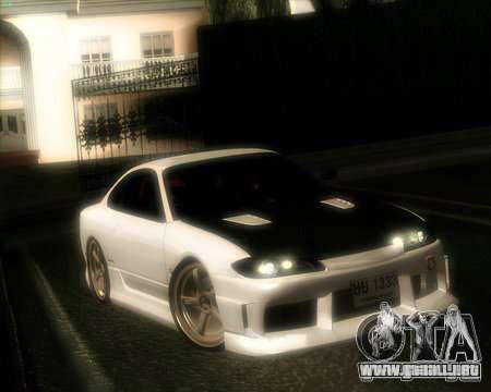 Nissan Silvia para visión interna GTA San Andreas
