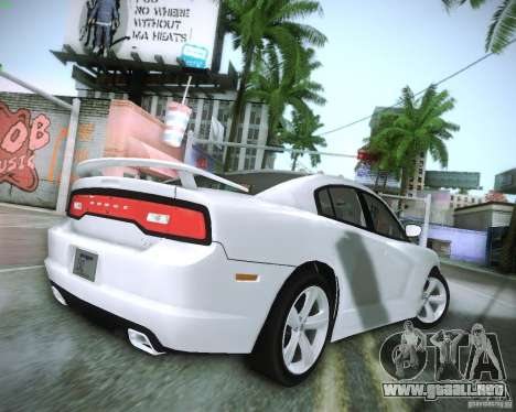 Dodge Charger 2011 v.2.0 para la visión correcta GTA San Andreas